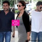 Kajol, Abhishek Bachchan, Dhanush, Suriya, Govinda - stars turn Mumbai airport into a Page 3 affair - view pics!