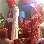 Harbhajan Singh and Geeta Basra wedding: You cannot miss this picture of the couple taking pheras!