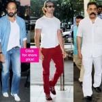 Hrithik Roshan, Rohit Shetty, Kamal Haasan, Dia Mirza add swag to airport style - view HQ pics!