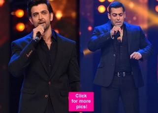Salman Khan and Hrithik Roshan's singing LIFT UP an already charged musical evening of Suron Ke Rang!
