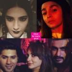 Varun Dhawan, Sonam Kapoor, Arjun Kapoor, Alia Bhatt celebrate a spooky Halloween- view pics!