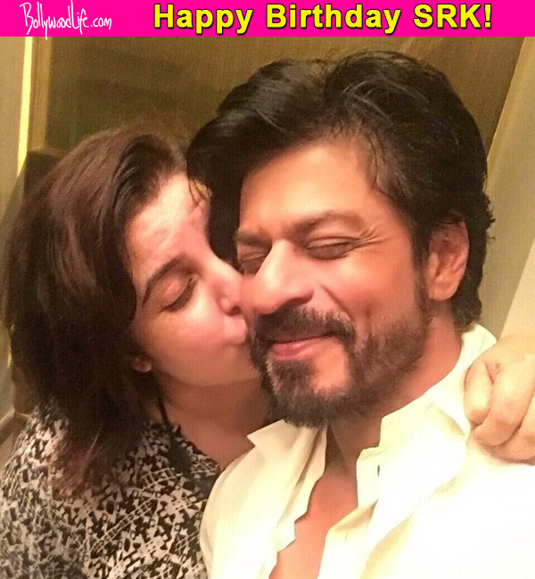 50 Years Of Shah Rukh Khan Farah Khans Cutest Birthday Wish For Will Make Your Day