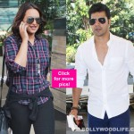Airport Diaries: Varun Dhawan spotted reading Dev Anand's autobiography; Sonakshi Sinha returns from Akira shoot!