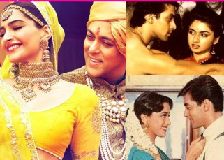 Sonam Kapoor, Madhuri Dixit, Bhagyashree, Sonali Bendre, Karisma Kapoor - who looks best with Prem Salman Khan? Vote!