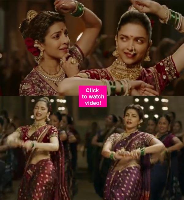 Bajirao Mastani song Pinga: Priyanka Chopra and Deepika Padukone light up the screen with their graceful dance jugalbandi!