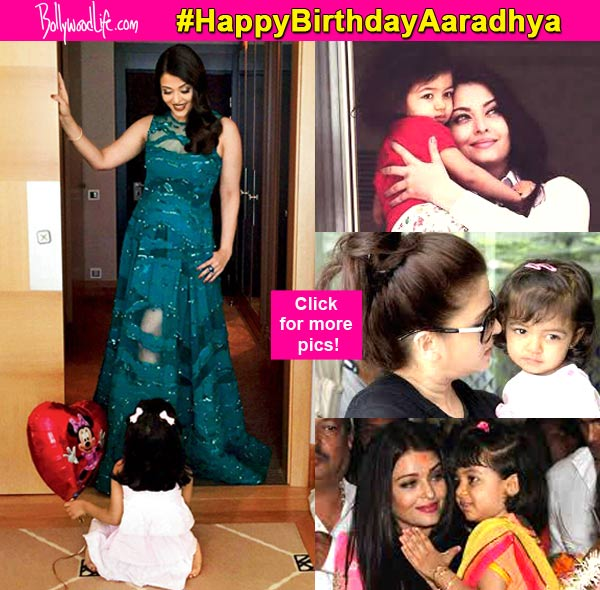 15 Pictures That Prove Aishwarya Rai Bachchans Daughter Aaradhya Is