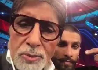 Check out Amitabh Bachchan's dubsmash for Ranveer Singh's Bajirao Mastani - watch video!