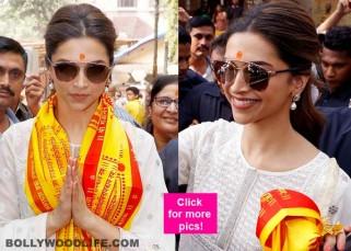 Deepika Padukone seeks DIVINE HELP for Tamasha - view HQ pics!
