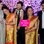 Chiranjeevi, Sridevi, Boney Kapoor dazzle at Jayaprada's son's wedding ceremony - view pics!
