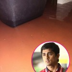 Chennai rains flood Siddharth's house; forces him to move to terrace - view pics!