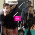 Alia Bhatt plays peekaboo with camera outside Sidharth Malhotra's residence - view pics!