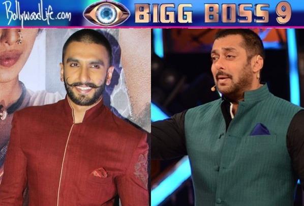 Ranveer Singh to promote Bajirao Mastani on Salman Khan's ...
