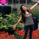 Tina Datta shows off her flower power in Taiwan-view pics!