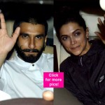Ranveer Singh and Deepika Padukone SPOTTED at the special screening of Bajirao Mastani – view HQ pics!