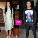 Dilwale special screening: Varun Dhawan and Kriti Sanon SET the tone for the night!
