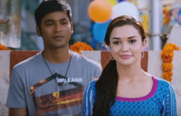 Thangamagan song Tak Bak: Dhanush and Amy Jackson's playful flirting lights  up this jazzy number
