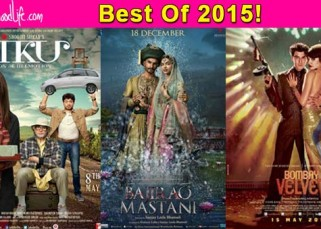 Ranveer Singh's Bajirao Mastani, Deepika Padukone's Tamasha, Amitabh Bachchan's Piku - Take a look at the 10 best posters of 2015!