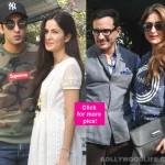 Ranbir Kapoor, Katrina Kaif, Saif Ali Khan, Kareena Kapoor Khan hung out together at the customary Christmas brunch!
