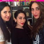 Katrina Kaif bonds with Karisma Kapoor and Kareena Kapoor Khan like never before-view pic!!