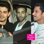 Salman Khan's 50th birthday bash: Sunil Shetty, Randeep Hooda and Tusshar Kapoor at the do - view HQ pics!!
