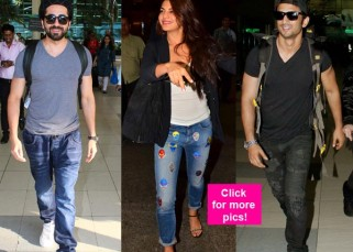 Jacqueline Fernandez's goofiness, Ayushmann Khurranna's selfie with fans and Sushant Singh Rajput with Ankita Lokhande spotted at Mumbai airport – view HQ pics!