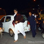 Why did Amitabh Bachchan walk to JW Marriott from his residence?