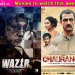 Preview: Amitabh Bachchan and Farhan Akhtar's Wazir, Sanjay Suri's Chauranga!