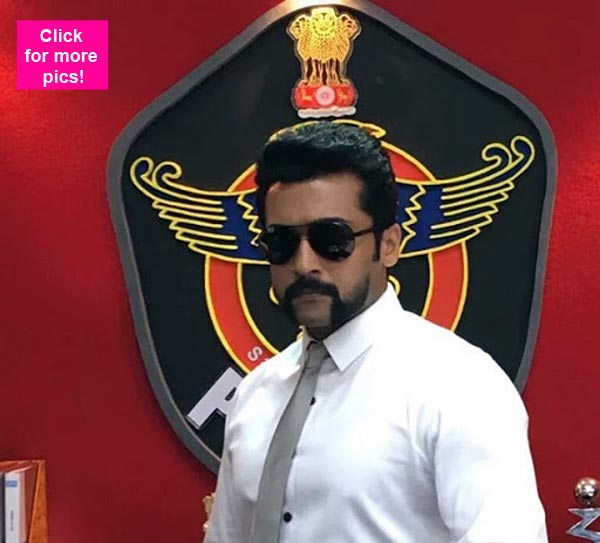 Suriya starrer s3s first look revealed bollywoodlife thecheapjerseys Choice Image