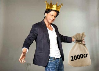 Shah Rukh Khan becomes the fastest actor to enter Rs 2000 crore club in Bollywood!