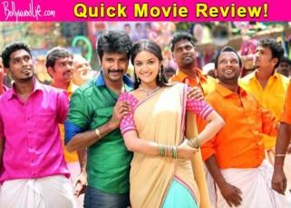 Rajini Murugan quick movie review: Siva Karthikeyan lifts up the film with his cute antics!