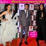 Star Screen Awards 2016 red carpet: Ranveer Singh, Deepika Padukone, Sonam Kapoor dazzle with their impressive looks –view HQ pics!