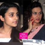 Spotted: Parineeti Chopra, Preity Zinta, Karan Johar at Manish Malhotra's party - view HQ pics!