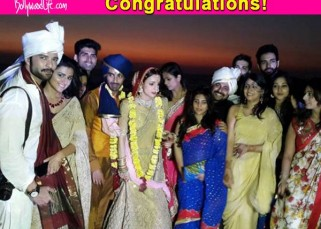 Just in: Sanaya Irani finally gets married to sweetheart Mohit Sehgal!
