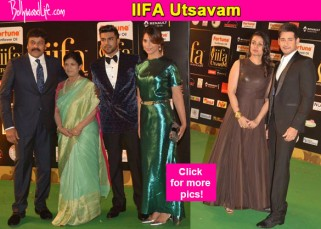 IIFA Utsavam 2016: Chiranjeevi, Nagarjuna, Mahesh Babu dazzle at the red carpet!