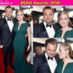 WATCH! That nostalgic moment when Titanic lovers Leonardo DiCaprio and Kate Winslet reunited at the SAG Awards 2016!