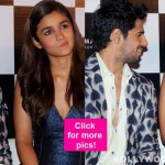 Sidharth Malhotra couldn't keep his eyes off of Alia Bhatt's funny antiques at the trailer launch of Kapoor and Sons - view HQ pics!
