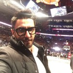 Ranveer Singh had a fabulous Valentine's Day, courtesy NBA All Star game!