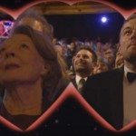 BAFTA awards 2016: Leonardo DiCaprio and Maggie Smith share a CUTE kiss on kiss cam - watch video!