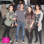 Salman Khan plays the PERFECT gentleman to Jacqueline Fernandez, Elli Avram and Chitrangada Singh at the Mumbai airport - view HQ pics!
