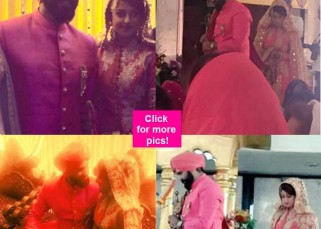 Hitched! Aarya Babbar gets married to Jasmine Puri