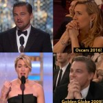Kate Winslet looking at Leonardo DiCaprio winning an Oscar is a MAJOR THROWBACK - here's how!