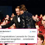 Amitabh Bachchan congratulated his The Great Gatsby co-star Leonardo DiCaprio for winning his first Oscar!