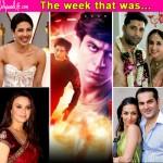 Shah Rukh Khan's Fan trailer, Priyanka Chopra at the Oscars, Urmila Matondkar and Mohsin Akhtar Mir's secret wedding - take a look at the top 5 newsmakers of the week!