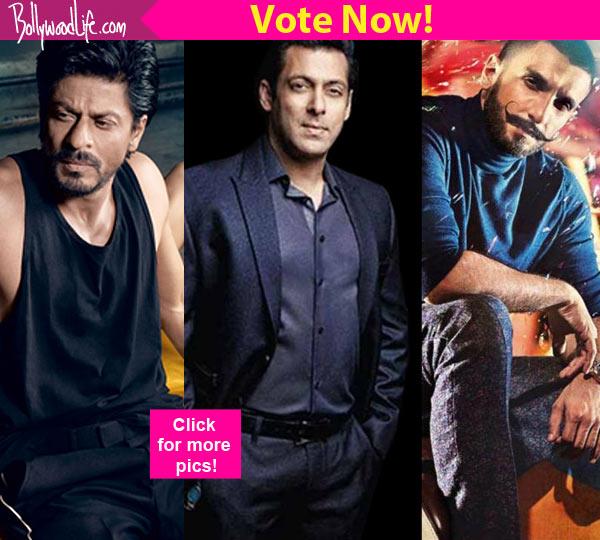Shah Rukh Khan, Salman Khan, Ranveer Singh - who has the ...