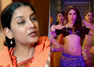 Shabana Azmi has SERIOUS ISSUES with Kareena Kapoor's Fevicol se!