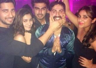 This UNSEEN pic of Sidharth Malhotra, Alia Bhatt, Arjun Kapoor, Varun Dhawan, Parineeti Chopra will redefine friendship!