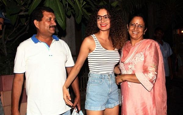 Kangana Ranaut's father OPENS UP about the actress ...
