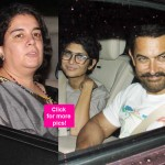 Aamir Khan's 51st birthday was a complete FAMILY AFFAIR - view HQ pics!