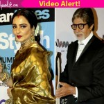 Did Amitabh Bachchan and Rekha leave TOGETHER from an awards show? Watch video!