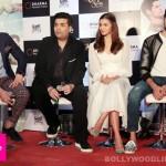 Fawad Khan, Alia Bhatt, Sidharth Malhotra and Karan Johar at Kapoor & Sons success bash - view pics!